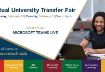 Virtual University Transfer Fair