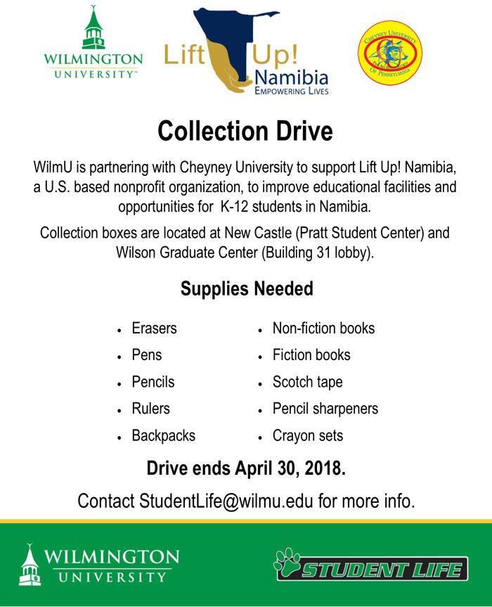 Lift Up! Namibia Collection Drive