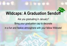 Wildcaps: A Graduation Sendoff
