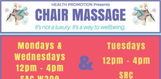 Belknap Campus Chair Massage