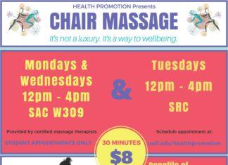 Belknap Campus Chair Massage