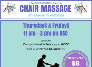 HSC Chair Massage