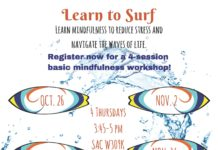 Learn to Surf- Mindfulness & Meditation