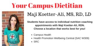 Meet Your Campus Dietitian