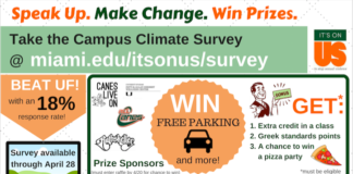 Speak Up & Make a Change. Take the Campus Climate Survey Today!