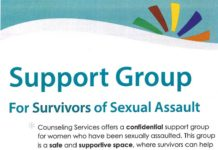 Support Group for Survivors or Sexual Assualt