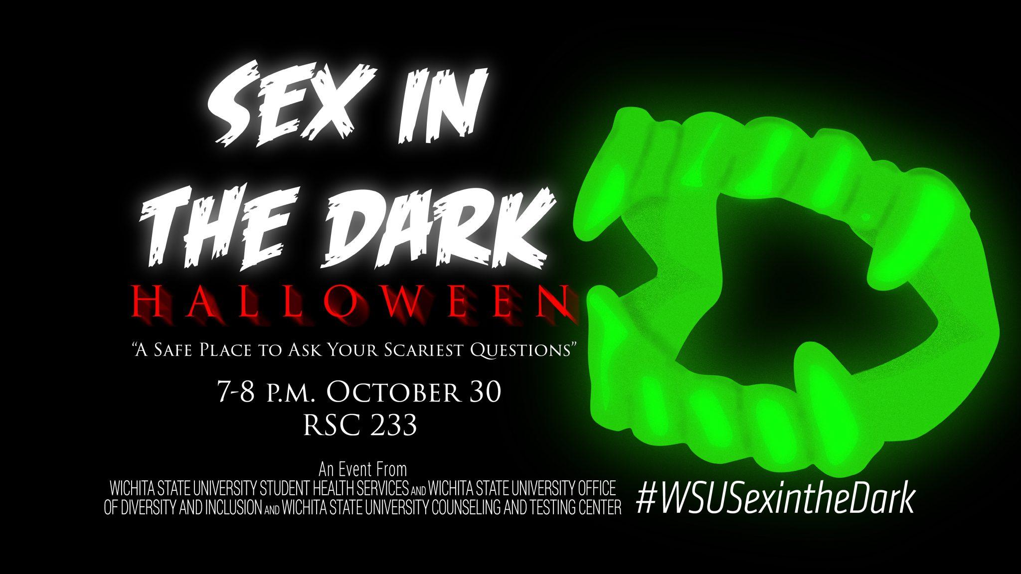 Sex in the dark Halloween