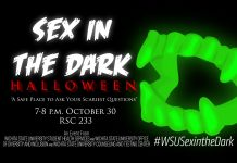 Sex in the dark Halloween