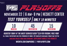 F45 Playoffs are back on November 22 at the Heskett Center.