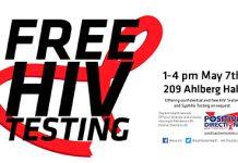 FREE HIV Testing at Student Health