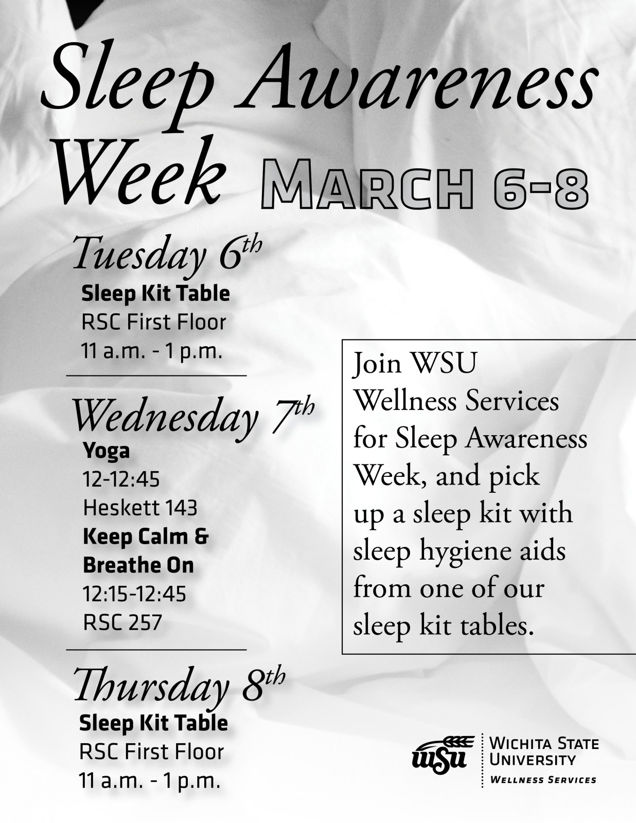 Sleep Awareness Week
