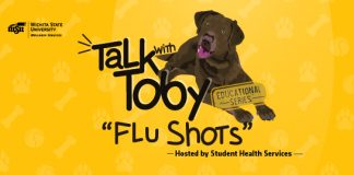 Talk With Toby Educational Series Flu Shot hosted by Student Health Services