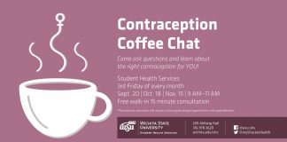 Contraception Coffee Chat with Student Health Services.