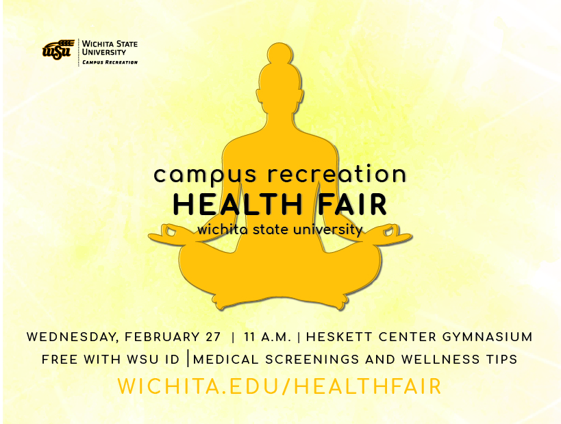 Health Fair 2019 on February 27 at the Heskett Center