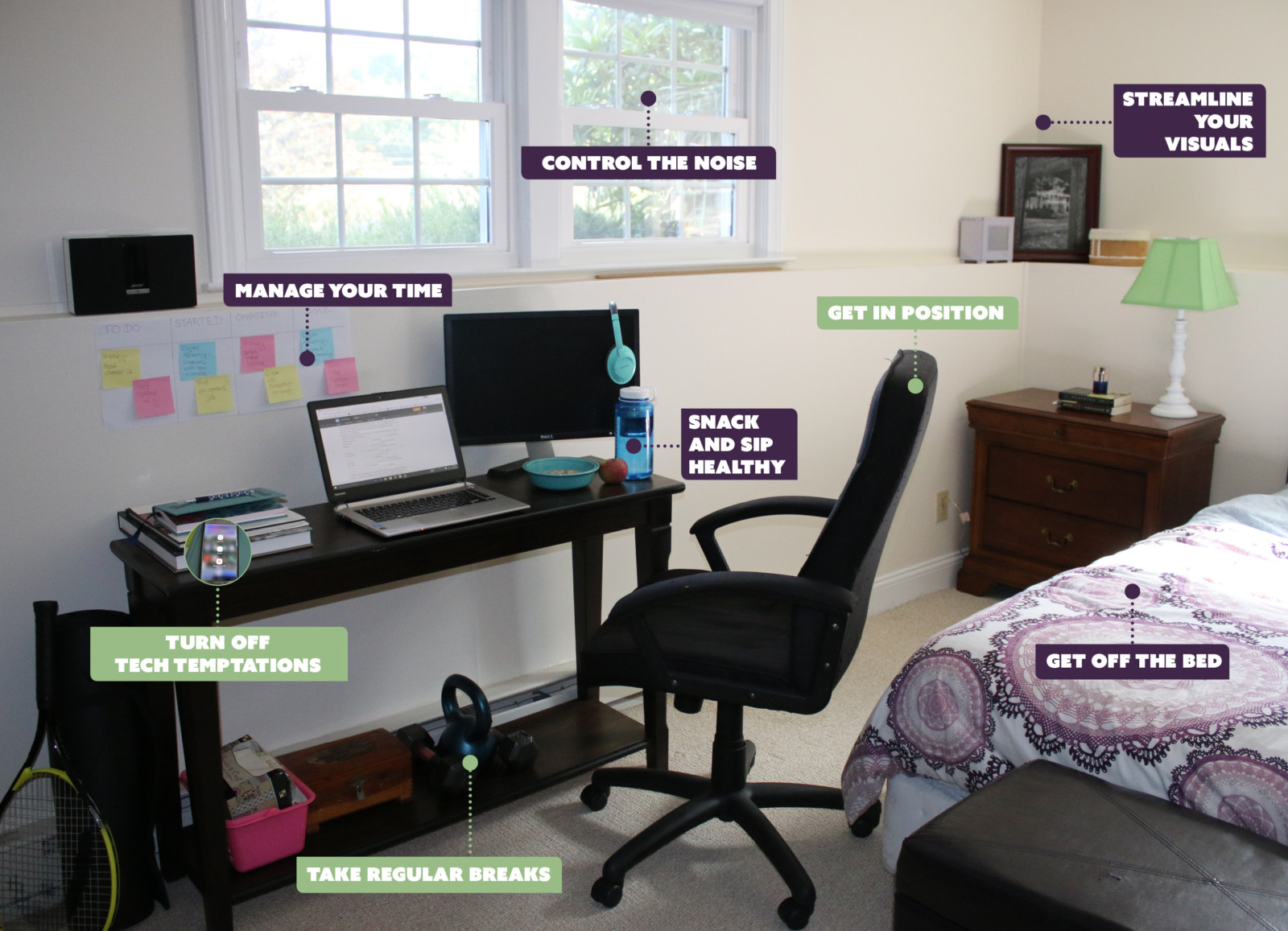 organize your office space. Ideal Study Space Organize Your Office R