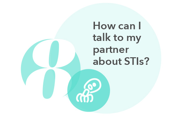 How can I talk to my partner about STIs?