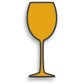 illustration of a wine glass
