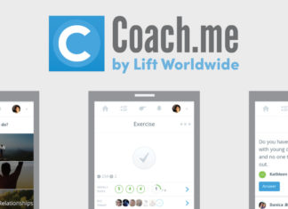 Coach.me screenshots and logo