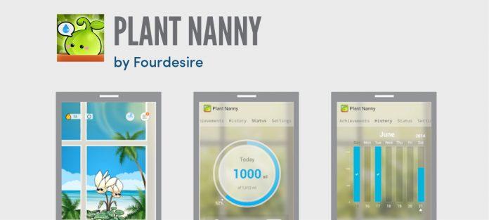 Plant nanny screen shots