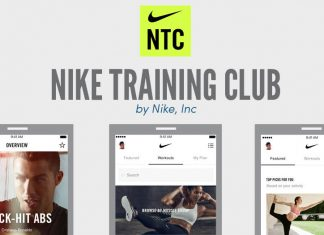 Nike training club, by Nike Inc