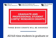 Office of LGBTQ* Resources Scholarships & Grants