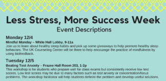 Less Stress More Success Events
