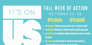 It's On Us – Fall Week of Action
