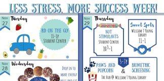 Less Stress, More Success Week