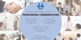 Presentation U tutoring Locations and Hours