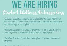 Student Wellness Ambassadors