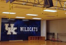 University of Kentucky gym