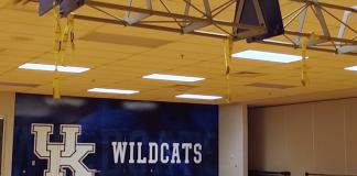 University of Kentucky gym