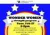 Wonder Women Strength Program