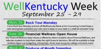 WellKentucky Week – Event Descriptions