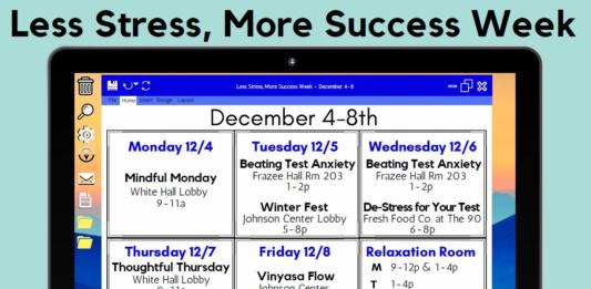 Less Stress More Success Week