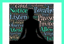 Mindfulness on the 3rd floor of the library on Tuesdays from 3:30-4:00pm