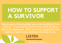 how to support a survivor