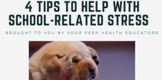 4 TIPS TO HELP WITH SCHOOL-RELATED STRESS