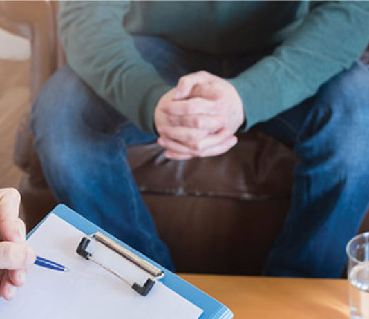 Student advocate- people sitting in therapy session