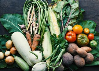 table of vegetables | plant based diet benefits