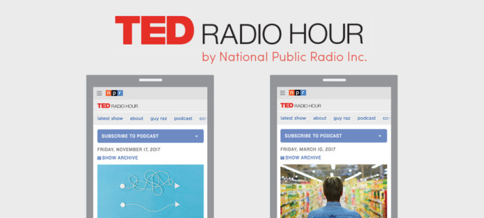 TED Radio Hour, by National Public Radio, Inc.