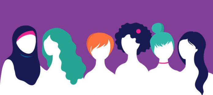many different women   8 march women's day