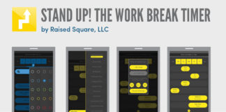 Stand up! The work break timer by Raised square LLC