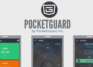 PocketGuard icon with screenshots