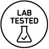 icon stating lab tested | health benefits of cbd