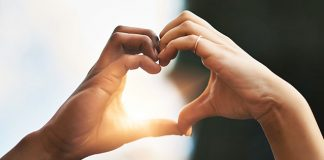 hands forming a heart | ways to prevent sexual assault