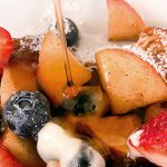 french toast with apples and berries | vegan french toast recipe