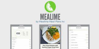 Mealime app screenshots