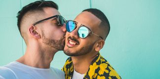 happy gay male couple | how to communicate during sex