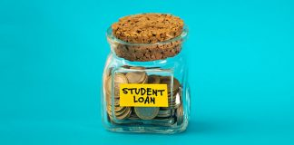 """jar of coins """"student loans"""""""